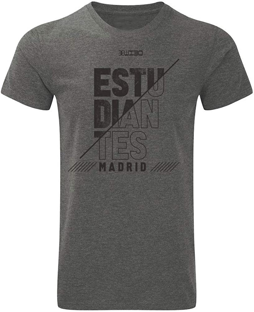 Movistar Estudiantes Camiseta Casual Gris Temporada 19/20: Amazon ...