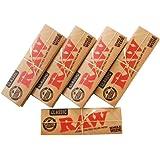 RAW(ロー) クラシック シングル ペーパー 50枚入り ×5個セット 手巻きタバコ 喫煙具