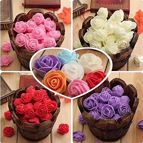 bazaar-50pcs-colourfast-handmade-foam-rose-flowers-bouquet-diy-wedding-party-decor