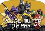 American Greetings Boy's Lego Batman Invite Postcards (8 Count)