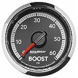 "Auto Meter 8508 Factory Match 2-1/16"" Mechanical Boost Gauge (0-60 PSI, 52.4mm)"