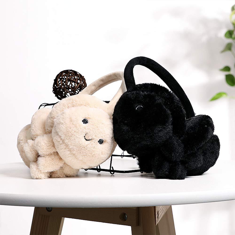 Womens Earmuffs Ears Muffs Ear Warmers Winter Earmuffs Men Women Foldable Size Adjustable Ear Warmer Protector