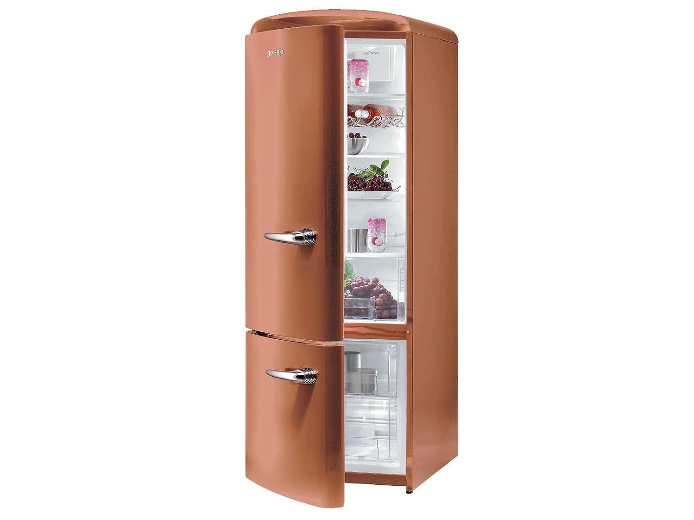 Gorenje RK 60319 OCR de l nevera y congelador Copper marrón retro ...