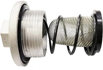 Tornillo de Drenaje de Filtro de Aceite Reempalzable Parte Ciclomotor Chino GY6: Amazon.es: Coche y moto