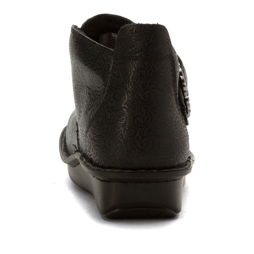 Alegria Women's Caiti Boot B01IQ3BVDC 40 M EU / 10 B(M) US Black Swirl