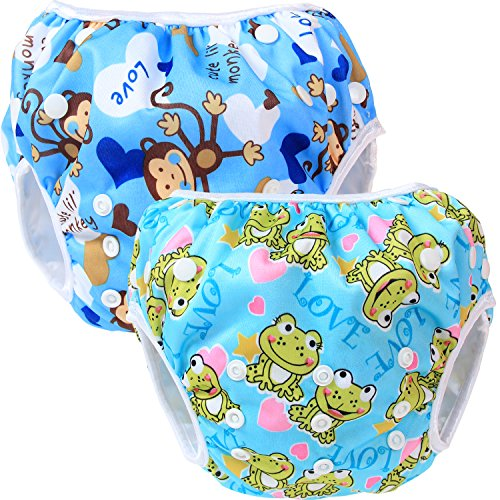 Teamoy Diaper Newborn Cloth Monkeys