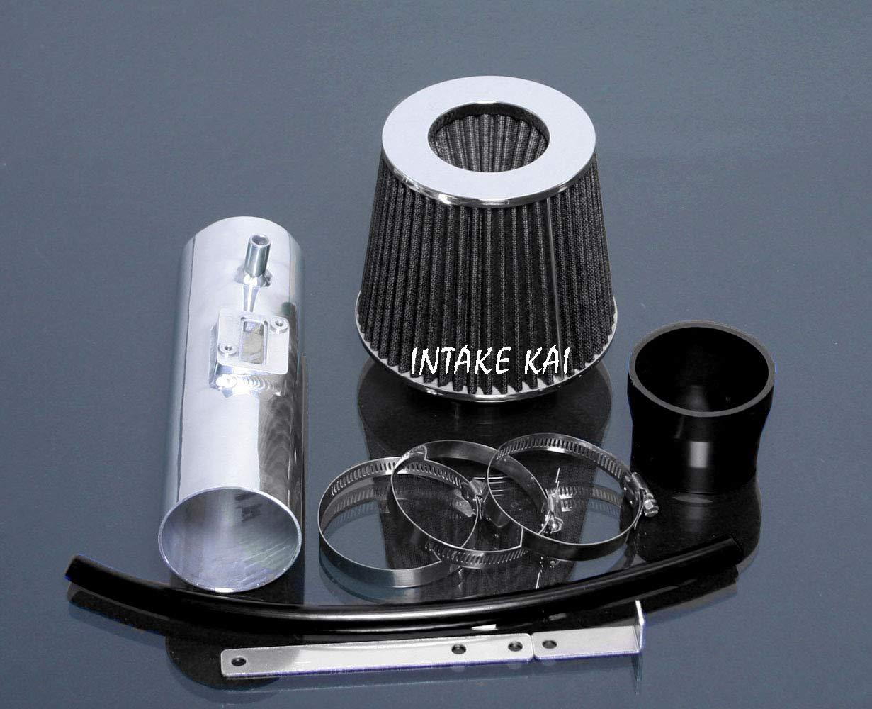 BLACK PERFORMANCE AIR INTAKE KIT FILTER FOR 2009-2014 ACURA TL 3.5 3.5L V6 ENGINE