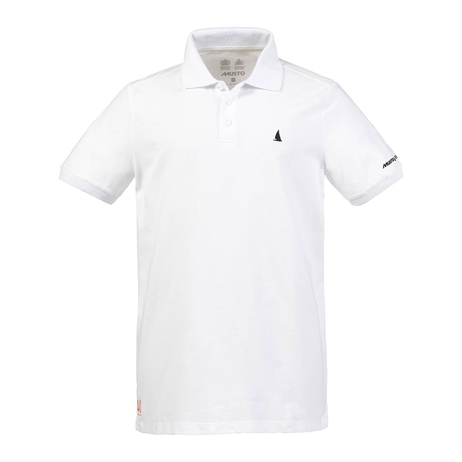 Musto Air UV Fast Dry Short Sleeves Sennen Polo - Optic Optic - Weiß 67fdcd