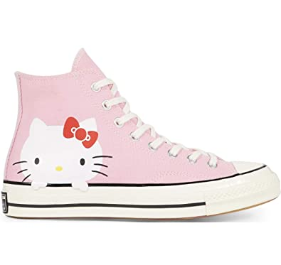 3b2874eeaf5b Converse Chuck Taylor All Star 70 s High Hello Kitty Pink Womens Sizes  162936C (7.5 us