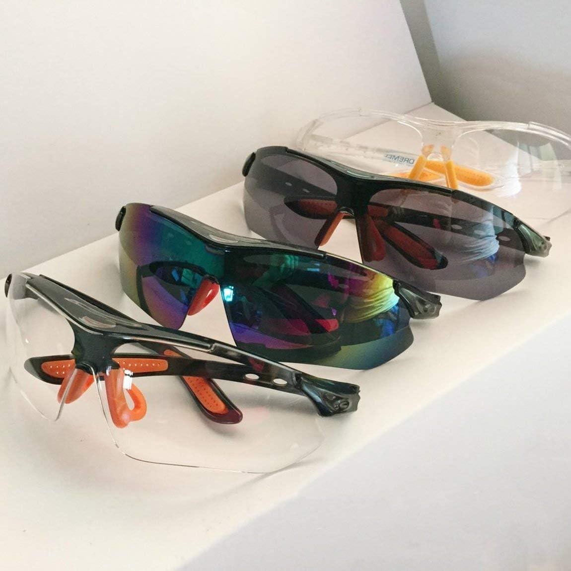 color: transparente 1 PC Gafas de seguridad Laboratorio Protecci/ón ocular Gafas protectoras m/édicas Lentes transparentes Gafas de seguridad en el lugar de trabajo Suministros antipolvo y