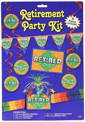Retirement Party Kit Party Accessory (1 count) (9/Pkg) ()