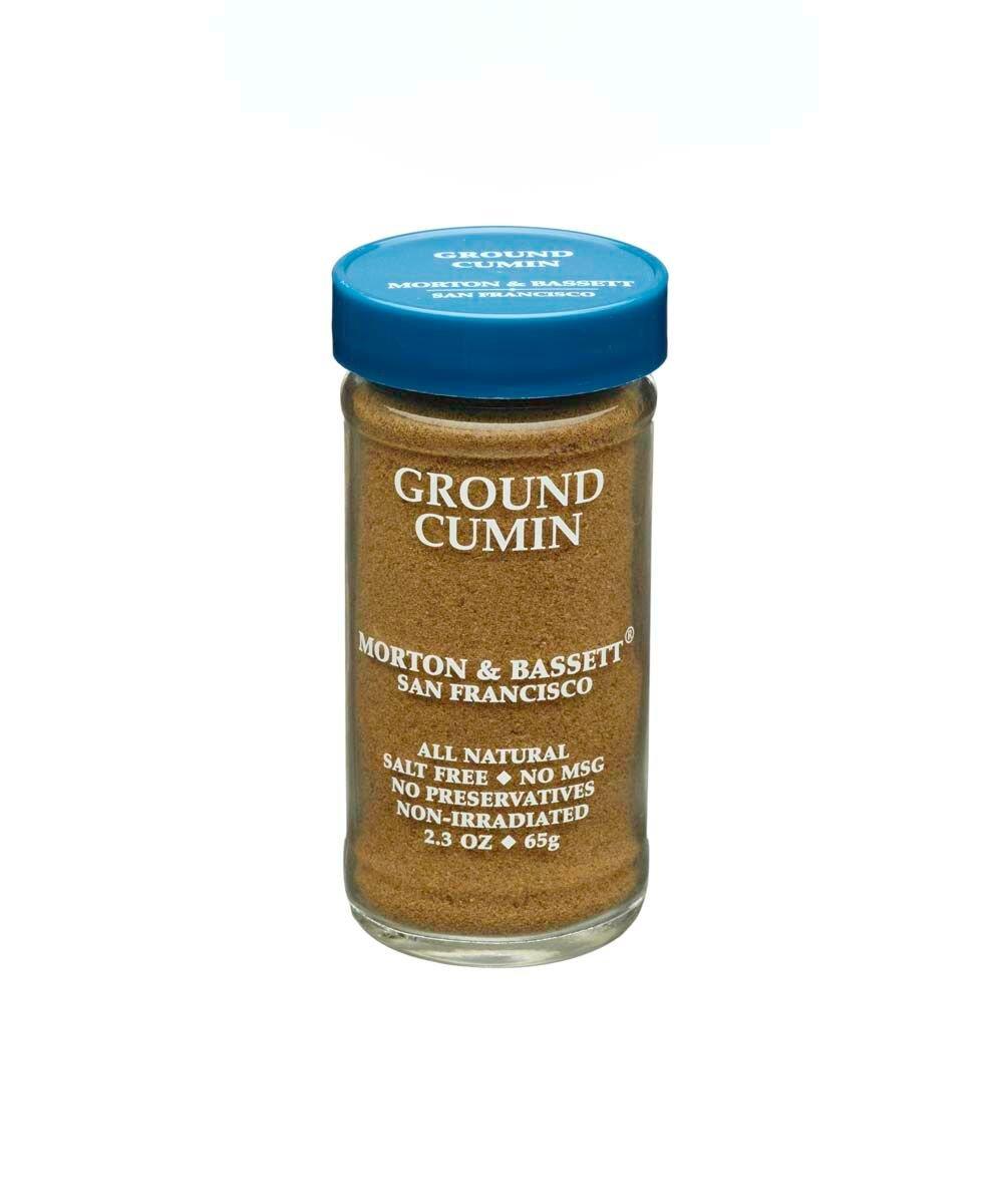 Morton & Bassett Ground Cumin 2.3 Ounce Jar