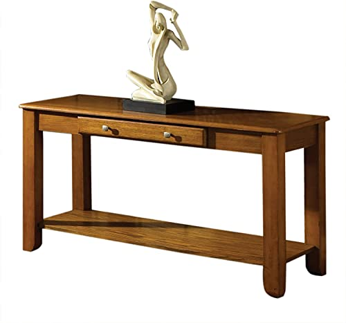 Steve Silver Company Nelson Sofa Table, Oak