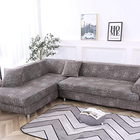 ADGAINAI Fundas Sofa Elasticas Impermeables Ordene 2 Piezas ...