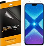 (6 Pack) Supershieldz for Huawei Honor 8X Screen Protector, High Definition Clear Shield (PET)