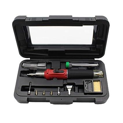 10 en 1 HS-1115K Sistema de Kit de Soldadura de Gas de Encendido Electrónico
