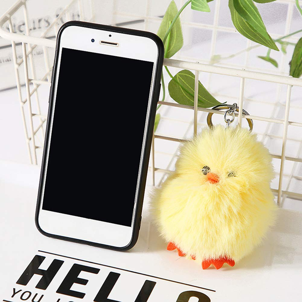 Amazon.com: xinmiltd Cute Chick Plush Doll Pendant Car ...