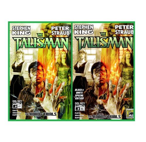 The Talisman Road of Trials Issue Zero - Color & B&W Set ( 2 Comic Issues )