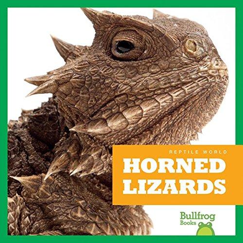 (Horned Lizards (Bullfrog Books: Reptile World))