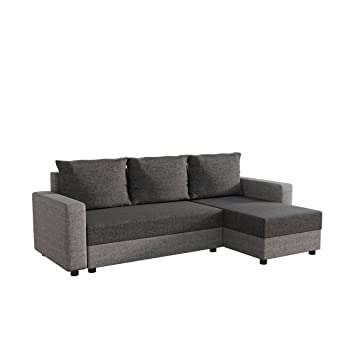 Mirjan24 Ecksofa Vibo Eckcouch Sofa Mit Bettkasten Und
