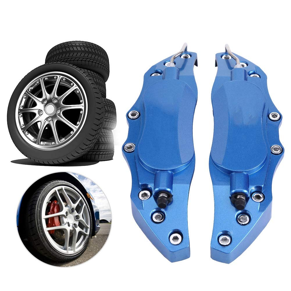 blau KIMISS 2 st/ücke 18-19 zoll Auto Aluminium Endless Bremssattel Schutzfolie Blau//Rot f/ür Radnabe 18in-19in Large