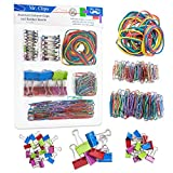 #8: Mr. Pen- Assorted Colored Binder Clips, Paper Clips, Rubber Bands, Paper Clips Jumbo, Paper Clips small, Binder Clips Small, Binder Clips Medium, Binder Clips Mini, Paper Clamps, Foldback Clips