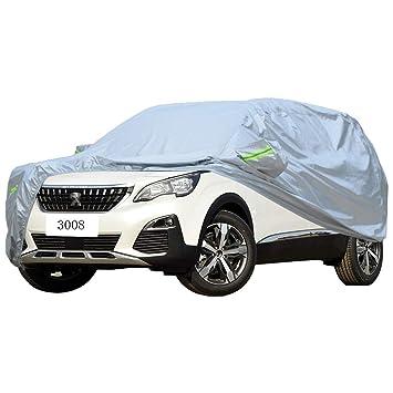 Amazon.es: Cubierta de coche PEUGEOT 3008 Cubierta especial del coche SUV Grueso Oxford Tela Protección solar Lluvia y anticongelante Cubierta caliente del ...