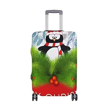 Amazon.com: Decoración Merry Navidad maleta Protector ...