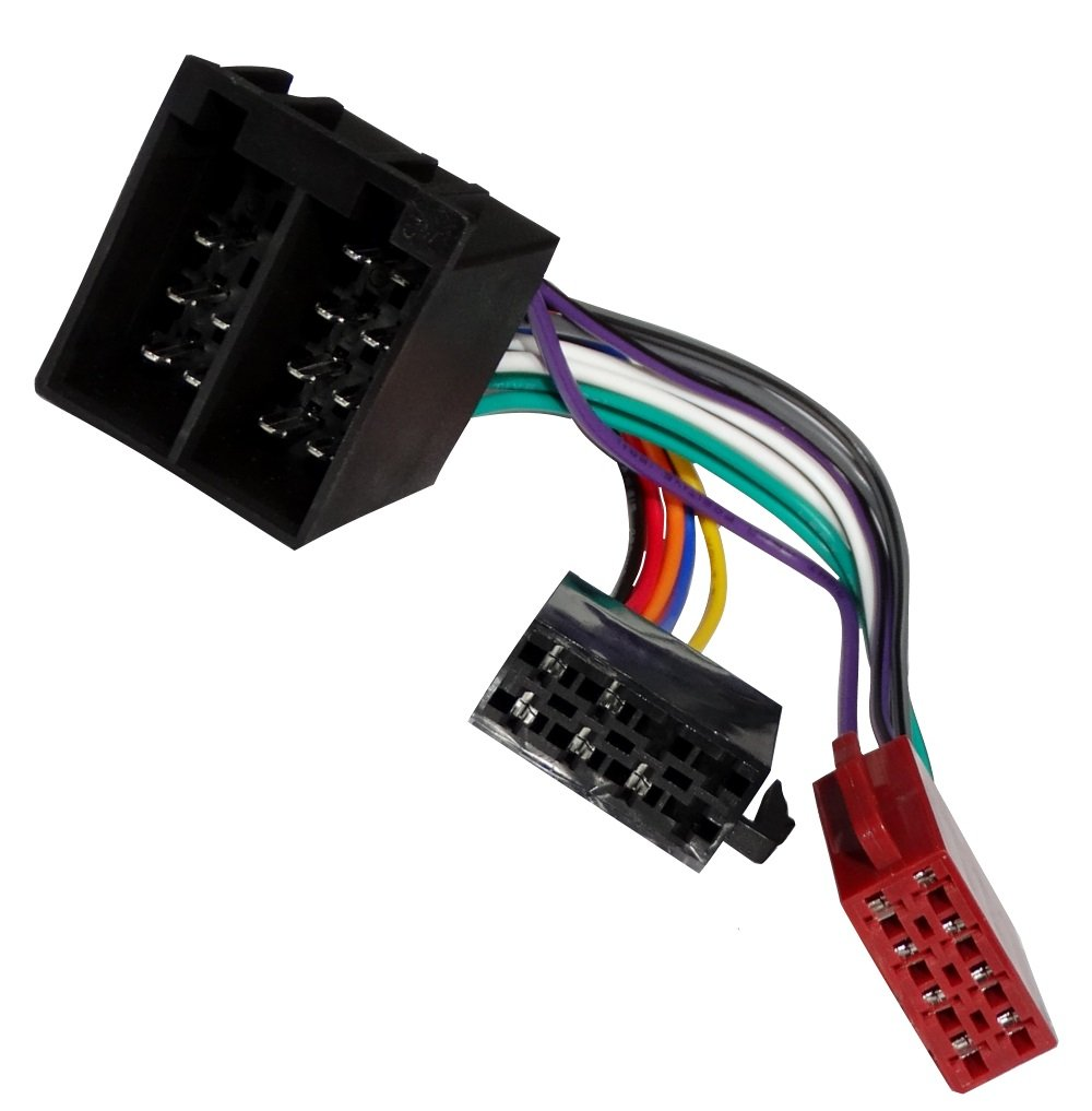 AERZETIX: Adaptador cable enchufe ISO para autoradio C40116