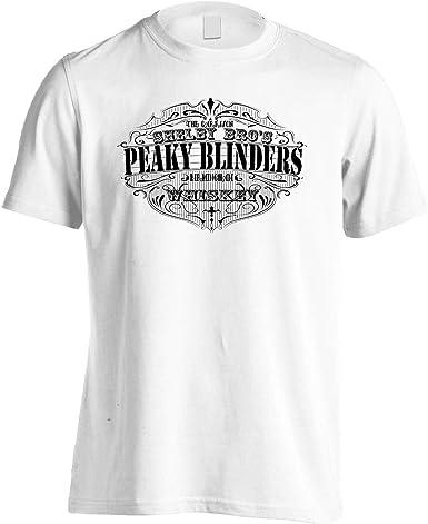 INNOGLEN Peaky Blinders Whiskey Shelby Bros ver8 Camiseta de ...