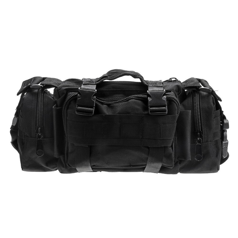 Tactical Hunting Tackle Bag Molle Utility Waist Single Shoulder Backpack Bag Pack Outdoor Sports Bag Mountaineering Bag by LIVIQILY (Image #1)