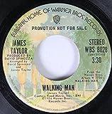 JAMES TAYLOR 45 RPM WALKING MAN / WALKING MAN