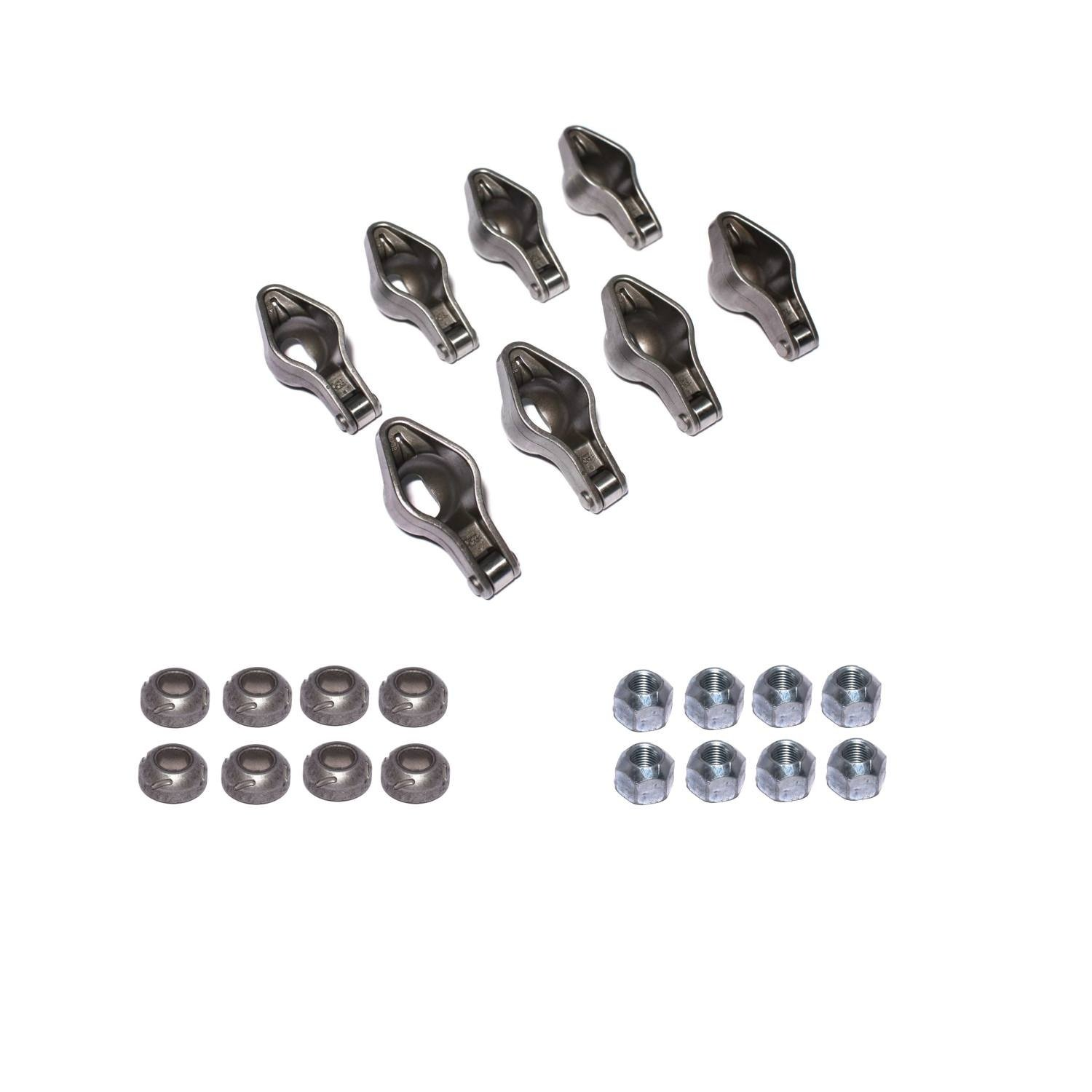 Set of 8 COMP Cams 1411-8 Magnum Roller Rocker Arm with 1.72 Ratio and 7//16 Stud Diameter for Chevy Big Block Engine,