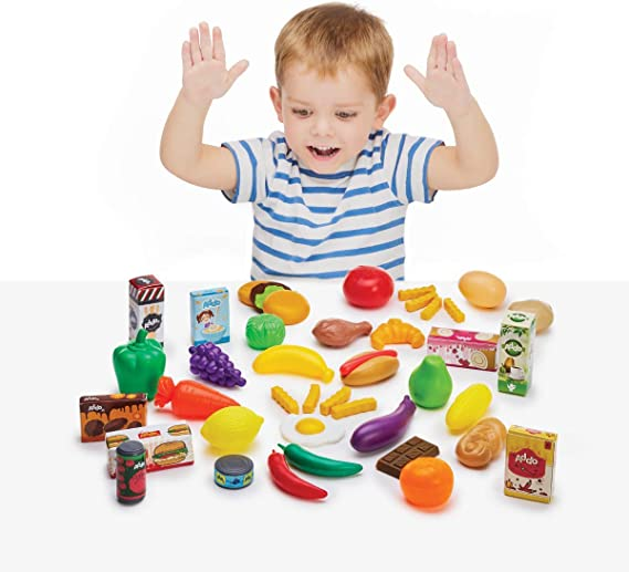 Addo Busy Me Mega Play Food Set: Amazon.co.uk: Toys & Games
