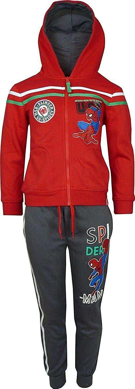 Spiderman Niños Marvel Chándal/Jogging Conjunto Rojo-8 Años / 128 ...