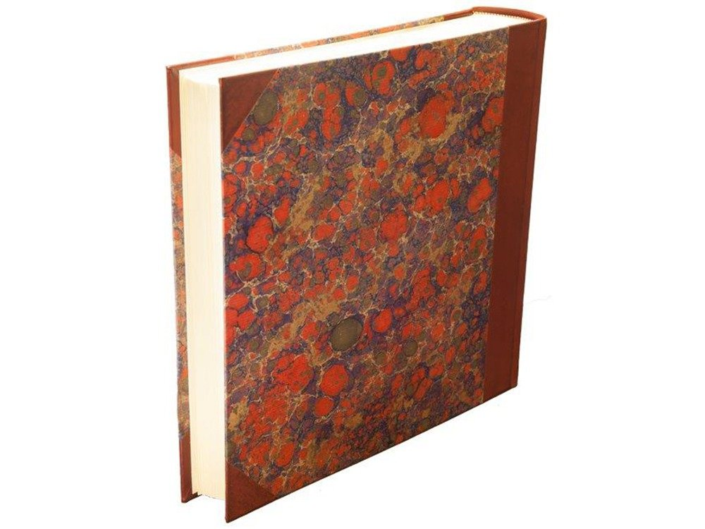 il Torchio - Photo album in leather and hand-marbled paper