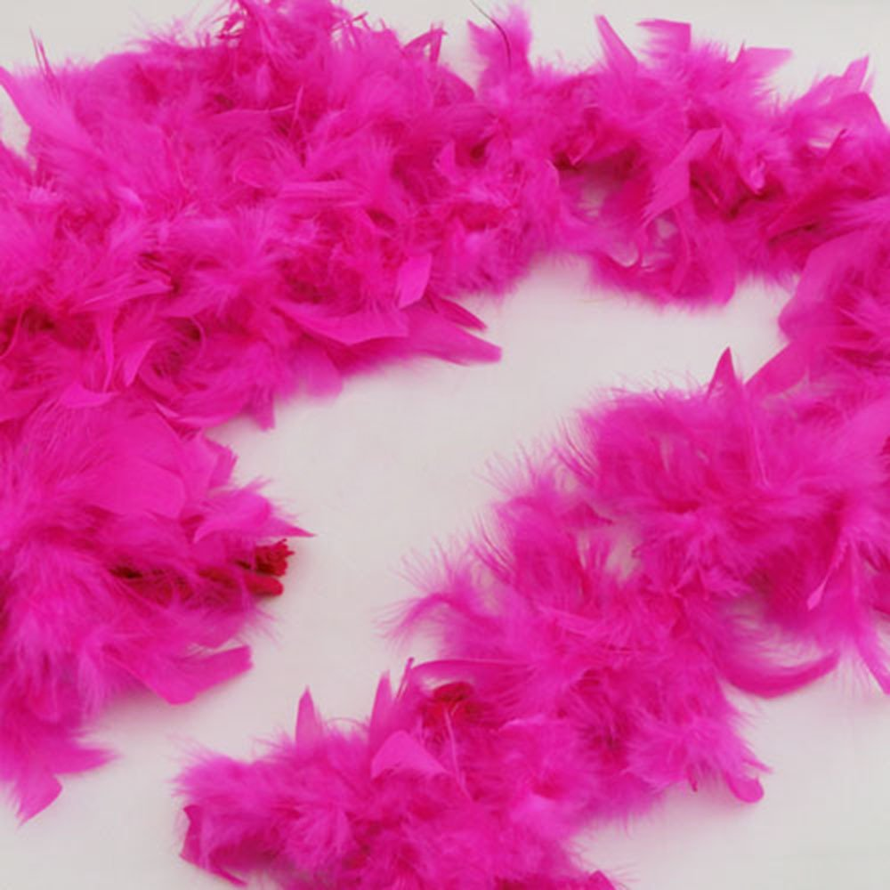 Hot rosa Feather Boa, Party, Hen Party, Any Function by Cards   Gifts