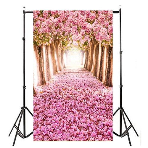WensLTD Clearance! Vinyl Wood Wall Floor Photography Studio Prop Backdrop Background 3x5FT (H)