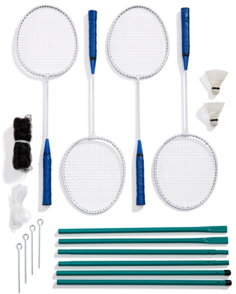 Celebrate Shop Garden Games 4-Player Badminton Set