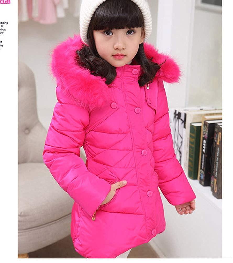 Girls Winter Coats,Girl Winter Jacket Puffer Quilted Coats Outerwear Cotton Lightweight Hooded Winter Coats