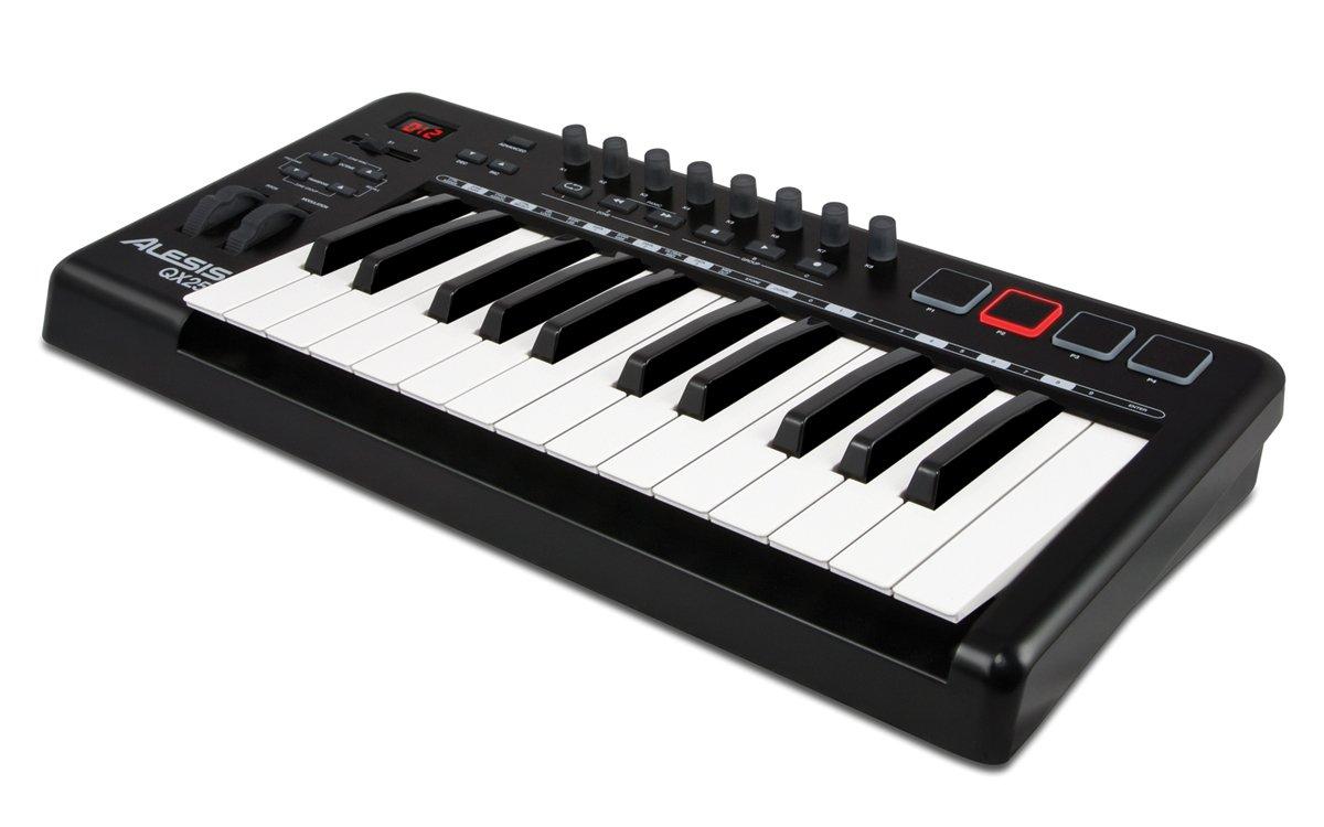 Numark QX25 - Teclado MIDI (USB, DC, 5V) Negro: Amazon.es: Instrumentos musicales