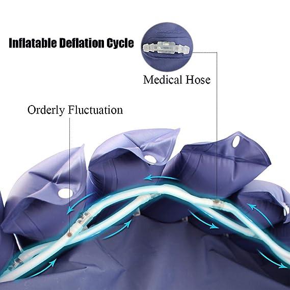 WANGXN - Colchón Hinchable con colchón de Aire médico Desmontable ...