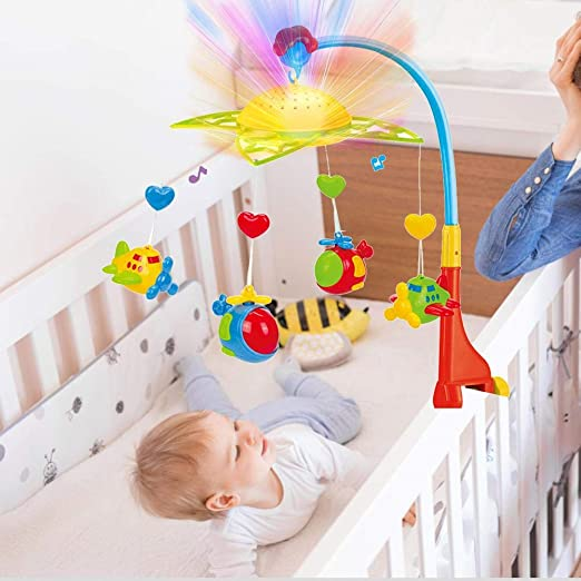 Seasons Shop Baby Mobile Music Mobile Baby Music Box de Birth Cot ...