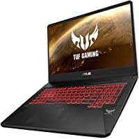 "Asus TUF705GD-EW081T PC Portable Gamer 17,3"" Noir (Intel Core i5, RAM 8 Go, 1 to + SSD 128 Go, Nvidia GTX 1050 4 Go, Windows 10) Clavier AZERTY Français"