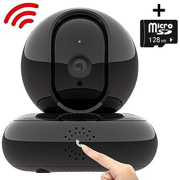 FTSUI Cámara WiFi para Interiores 1080P, cámara IP con botón ...