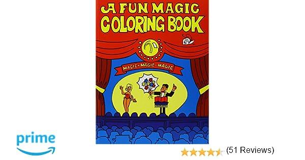 amazoncom coloring book fun magic toys games - Magic Coloring Book