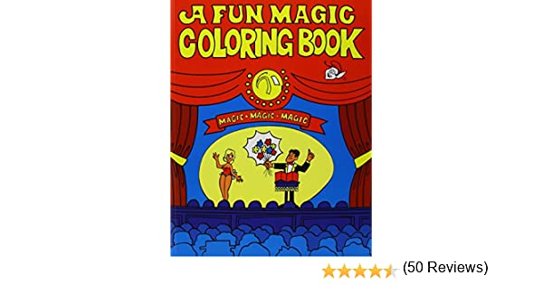 amazoncom coloring book fun magic toys games - A Fun Magic Coloring Book