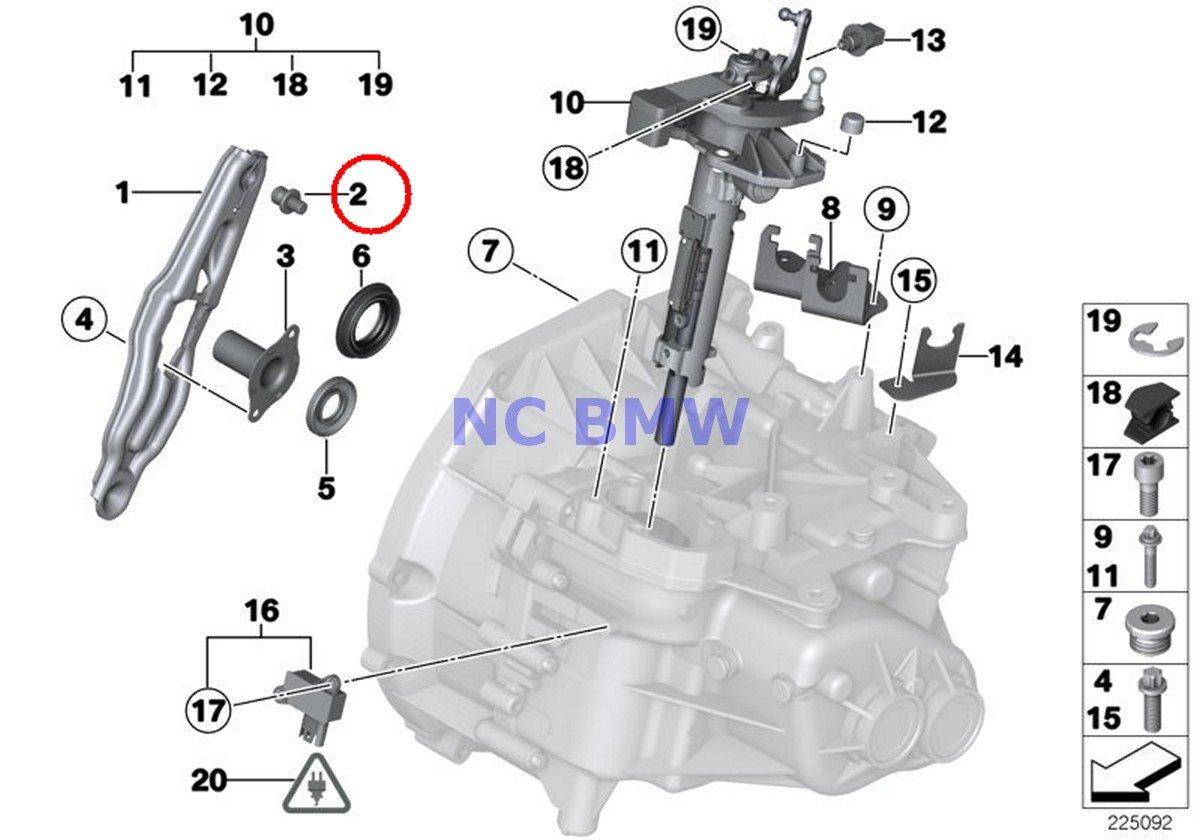 BMW Mini auténtica Pivot presión Pin - Horquilla de Embrague Palanca Cooper Coop. S JCW Cooper S Coop. S JCW Cooper S Coop. SX JCW Cooper Cooper: Amazon.es: ...