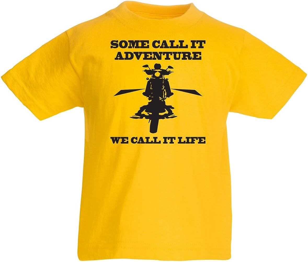lepni.me Camiseta para Niño/Niña ¡Lo llamamos Vida Tras Las rejas! Ropa Estilo Motero (1-2 Years Amarillo Multicolor): Amazon.es: Ropa y accesorios