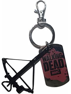 Amazon.com: Walking Dead ABYKEY107 Daryl Wings Metal ...